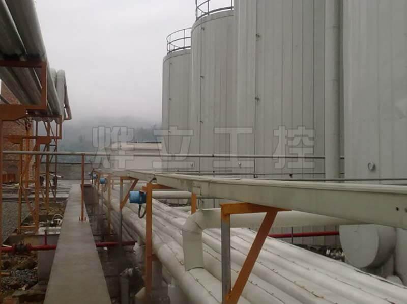 防腐超声波液位计化工罐液位测量