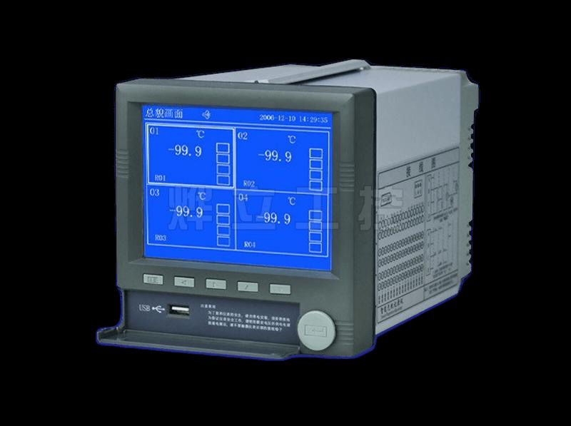 YL4100高清蓝屏无纸记录仪