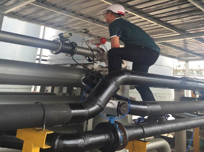 压力变送器在印染废水余热回收应用