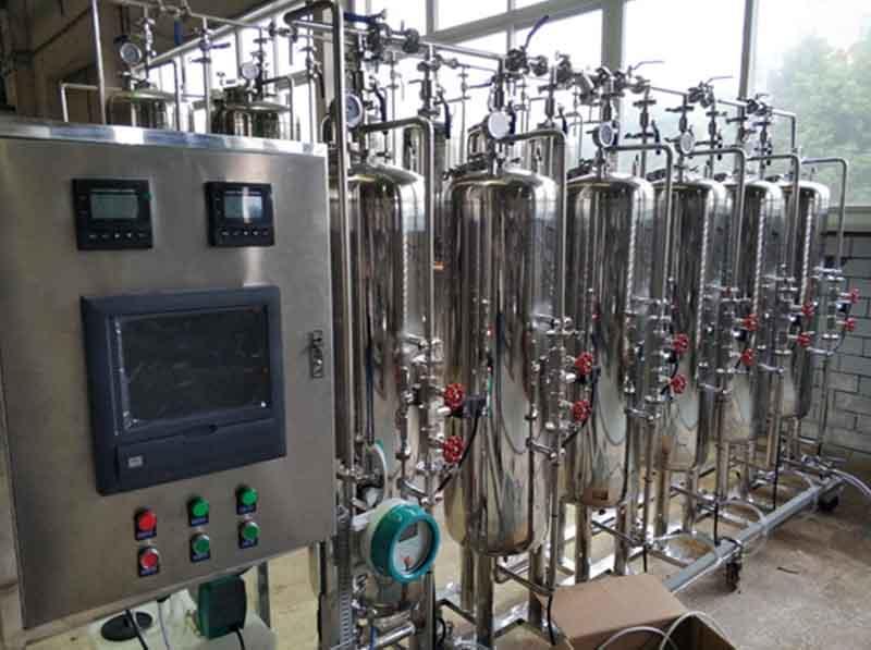 烨立仪表在水处理装置上的应用实例