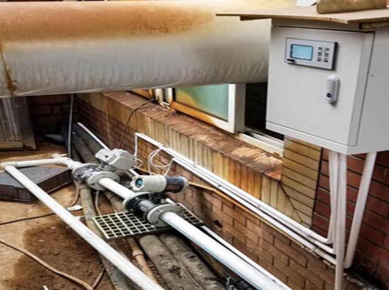 烨立电磁流量计为企业供水的应用