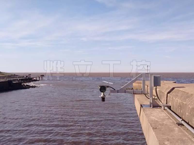 全封闭超声波液位计船闸水文测量