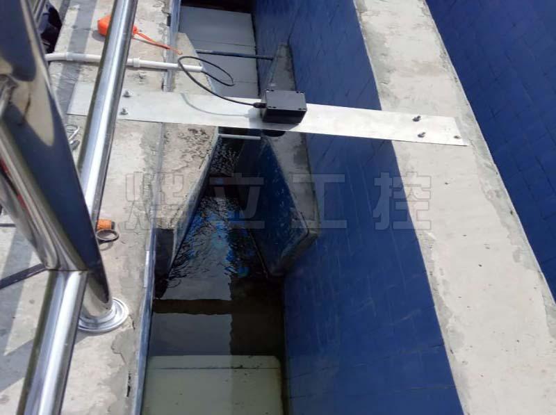 超声波明渠流量计排污口流量测量