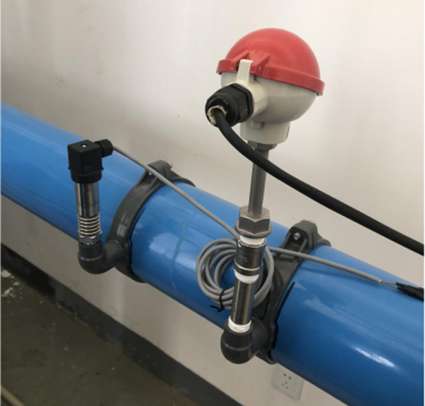 烨立WMB压力变送器和WZP铠装热电阻的温压补偿系统