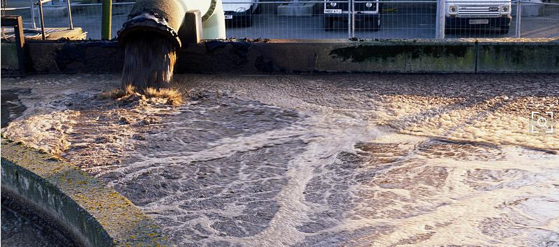 冶金废水现场实例图