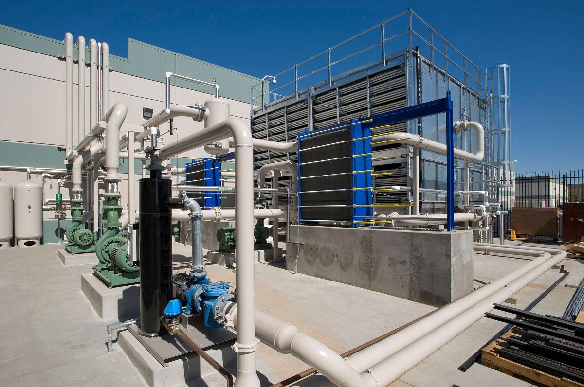 循环水冷却系统现场图
