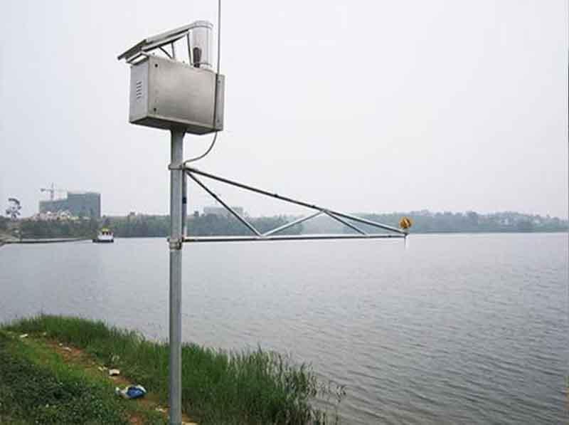 超声波液位计水库边液位监控