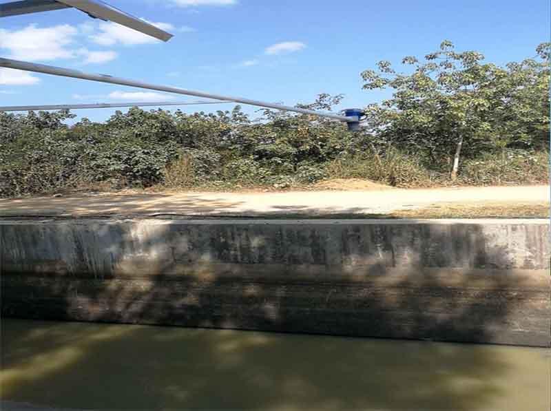 分体式超声波液位计测河道水位