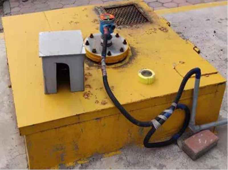 超声波液位计用于石灰泥浆的应用
